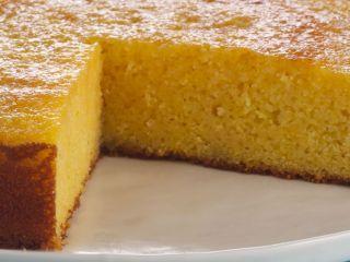 Torta de naranja apta celíacos
