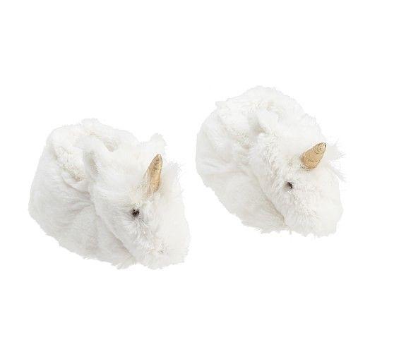 Nursery Fur Animal Slippers | Pottery Barn Kids... These slippers alone make me wish I were having a girl! Lol