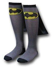 Batman socks with capes #Geek #Batman #socks