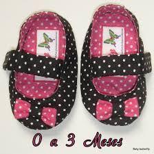 Resultado de imagem para sapatinhos de tecido para bebe
