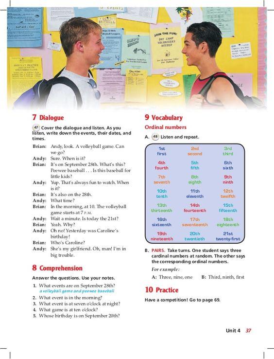 English book 1 teacher
