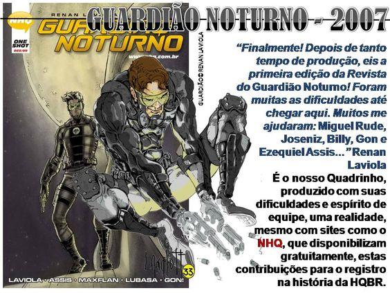 NOME: GUARDIÃO NOTURNO