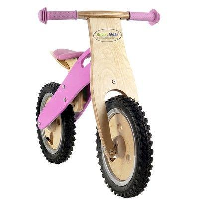 Smart Gear Girls Balance Bike - Pink Bubblicious : Target