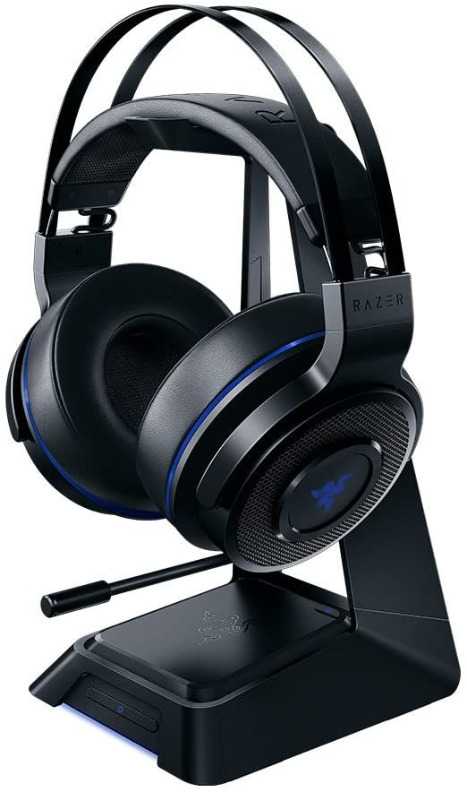 Hot Deal Razer Thresher Ultimate For Ps4 Dolby 7 1 Surround Sound Lag Free Wireless Connection In 2020 Headset Ps4 Headset Wireless Headset