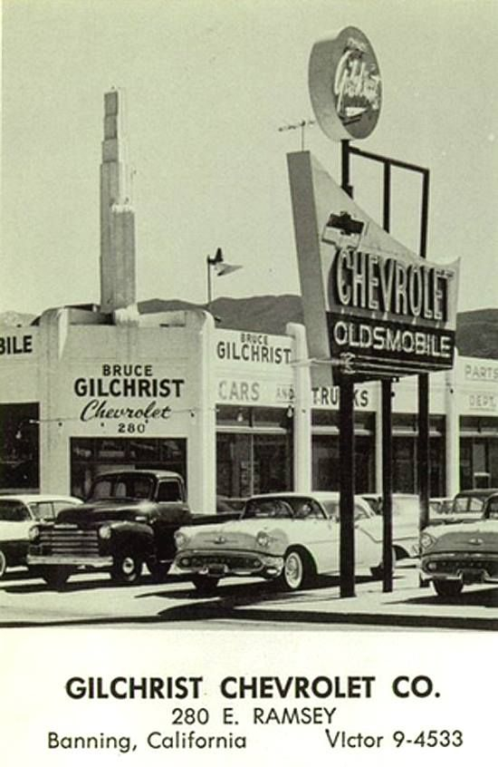 Gilchrist Chevrolet Company Dealership Banning California