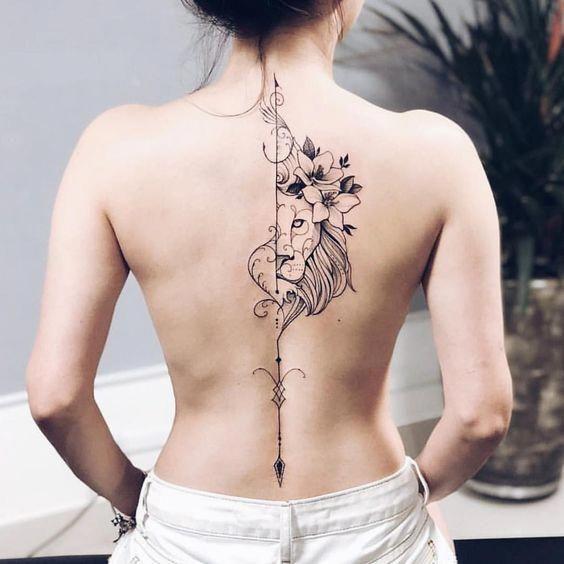 Tattoos On Back Spine Tattoos For Women Girl Back Tattoos Elegant Tattoos