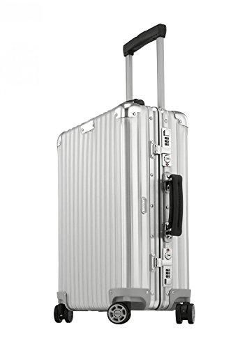 Rimowa Classic Flight Iata Luggage 21 Inch Cabin Multiwheel 33l Carry On Suitcase Silver Best Luggage Carry On Suitcase Rimowa