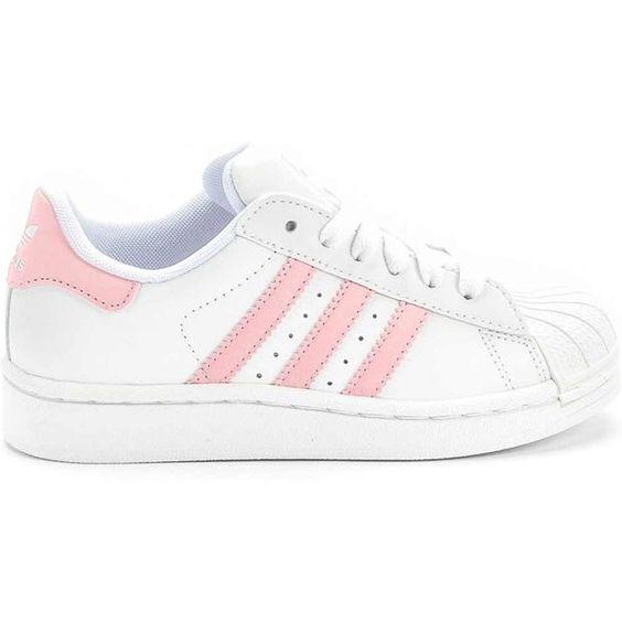 adidas G09867 Superstar 2 Preschool (White/Pink) at Shoe Palace