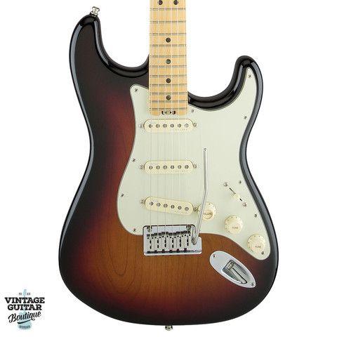 Fender American Elite Stratocaster, Maple, 3-Tone Sunburst