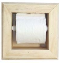 Recessed tissue holder.