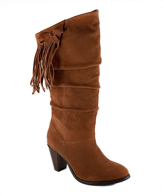 Take a look at this Rampage Cognac Ishmael Boot on zulily today!