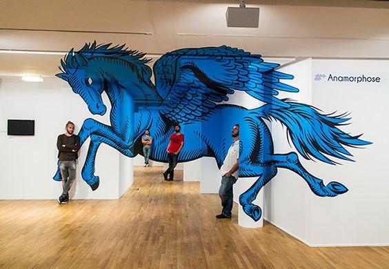 Truly Design, street art y murales mitológicos (Yosfot blog)