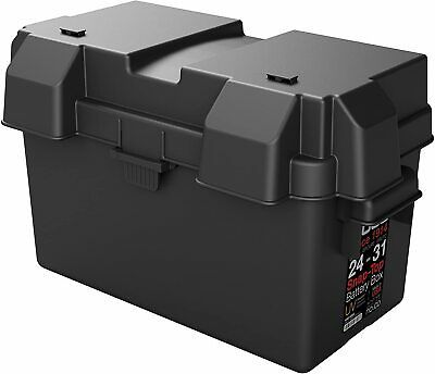 Details About Noco Group 24 31 Snap Top Battery Box For 12 Volt Marine Rv Boat Black In 2020 Kids Halloween Gifts Boat Battery Marine