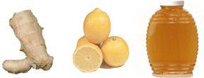 Ginger/Lemon/Honey Tea   Great tonic for killing a cold virus!