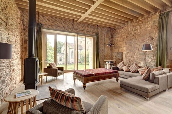 Astley Castle by Witherford Watson Mann Architects