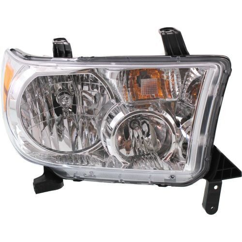 2009-2013 Toyota Tundra Head Light RH, Assembly, With Level Adjuster