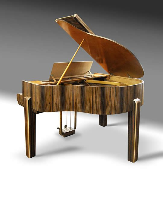 art deco gaveau grand piano 1932 home pinterest art deco art and nice. Black Bedroom Furniture Sets. Home Design Ideas