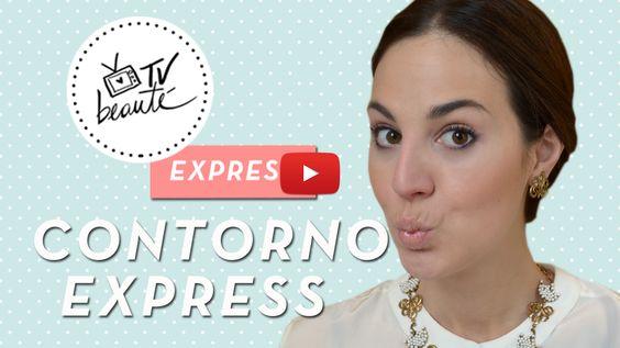 TV Beauté Express: contorno express!   Dia de Beauté