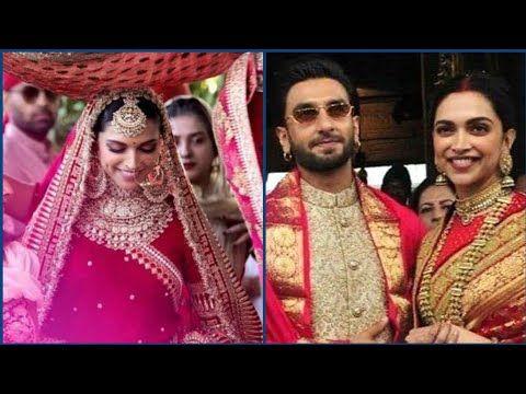 Deepika Padukone S Wedding Photo Deepika Ranveer Singh Wedding Photography Youtube In 2020 Deepika Ranveer Ranveer Singh Youtube Photography