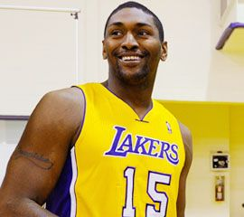 Metta World Peace wants the blame if the Lakers don't with the 'chip