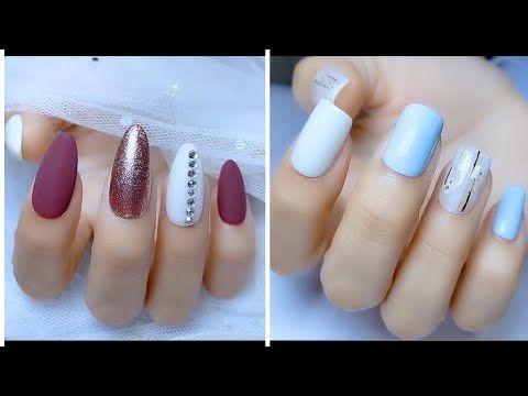 Beauty Salon Nail Colors New Nail Art Designs 2021 Nail Art 6 Youtube In 2021 Nail Art Designs New Nail Art Design Nail Colors