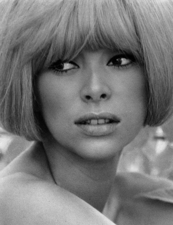 Mireille Darc (French: [miʁɛj daʁk]; born 15 May 1938)[1] is a French model and actress. She was Alain Delon's longtime co-star and companion. She appeared as a lead character in Jean-Luc Godard's 1967 film Week End. Darc is a Chevalier of the Légion d'honneur and Commandeur of the Ordre national du Mérite.