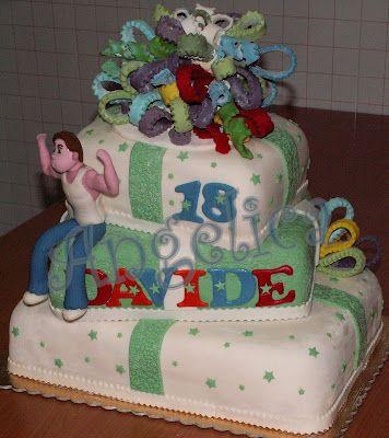 Emozioni in torte- Le torte di Angelica: 18°compleanno ragazzo