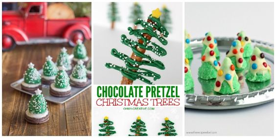 Christmas Tree Desserts for Kids are easy to make and delicious to eat. Kids and adults alike will enjoy them during the holidays.