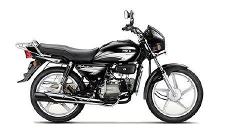 Hero Splendor Plus Black With Silver Image Hero Honda Bikes