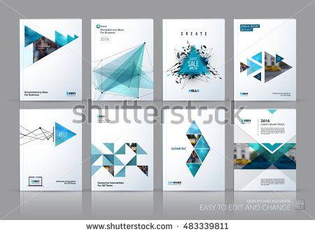 Brochure template layout cover design annual report magazine – University Brochure Template