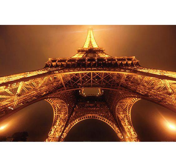 Paris Poster Eiffelturm Jim Zuckerman. Hier bei www.closeup.de