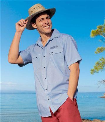 Chemise Méditerranée #atlasformen #avis #discount #shopping #shoppingformen #formen #pour hommes #shoppingpourhommes #hommes #men
