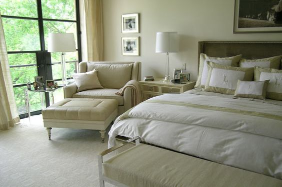 Neutral bedrooms paint colors and cream bedrooms on pinterest for Neutral cream paint color