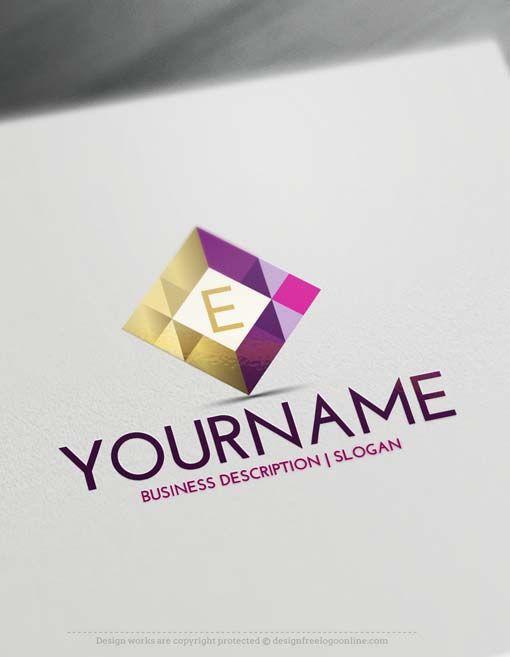 Free Geometric Logo Maker Create Letters Logo Design Online
