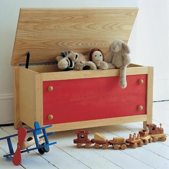 Good Old Fashioned Wooden Toy Box
