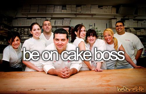 better:  have my wedding cake made by the cake boss team, lol