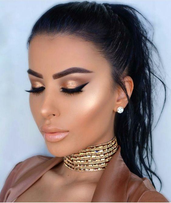 Maquillaje glow