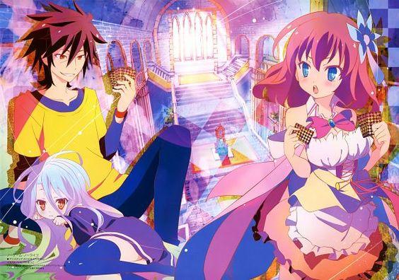 Tags: Anime, Ishizuka Atsuko, MADHOUSE, No Game No Life, Stephanie Dora, Shiro (No Game No Life), Sora (No Game No Life)