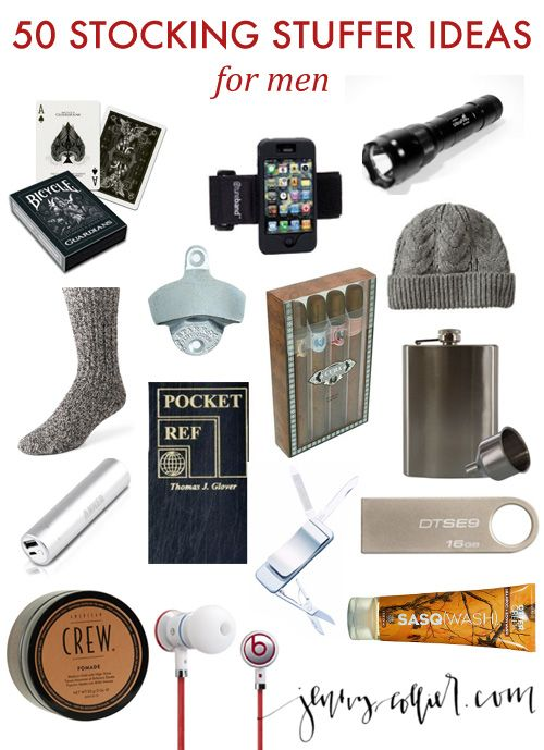 150 Stocking Stuffer Ideas - http://jennycollier.com/?p=10511