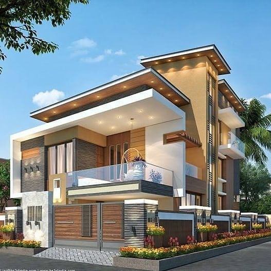 Indian House Architecture In 2020 Modern House Facades Modern Bungalow Exterior Modern Exterior House Designs