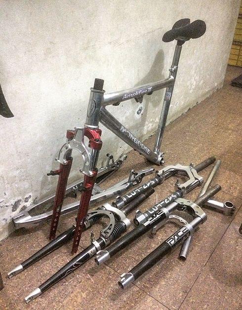 Just Arrived 1993 Marzocchi Xc 500 Forks Vintage Mountain Bike Bike Vintage Bikes