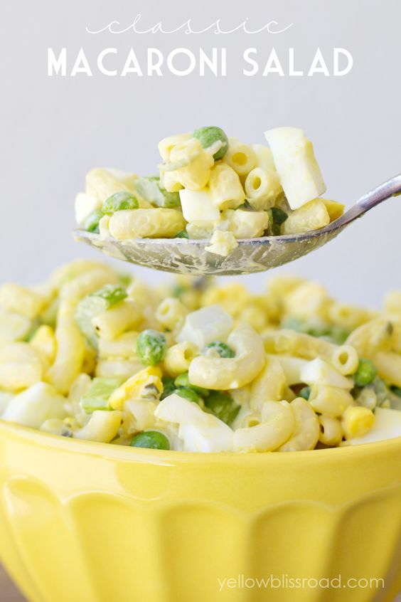 Classic Macaroni Salad & 25 Barbecue Friendly Side Dishes & Desserts
