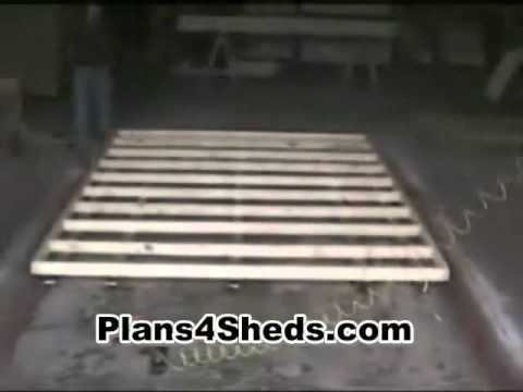 building wood shelves for garage attached to studs | Fine Woodworking ...