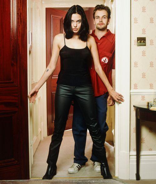 Angelina Jolie and Jonny Lee Miller | Old flames ...