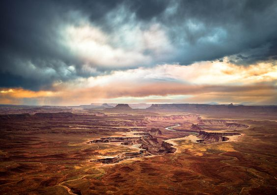 green river, canyonlands, utah