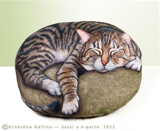 Decorar Jardin Con Gato De Resina