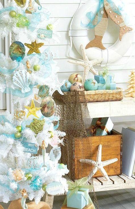 Coastal Christmas Ornaments:  http://www.completely-coastal.com/2015/11/sea-inspired-coastal-christmas-collections.html