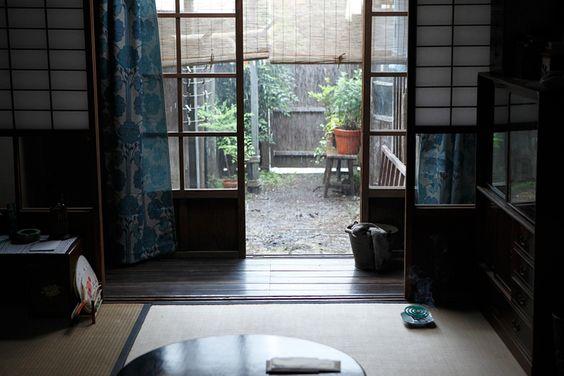 『夏の終り』仕事場を兼ねた古き良き昭和の住まい | CINEmadori シネマドリ | 映画と間取りの素敵なつながり