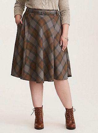 Outlander Tartan Skirt, from Torrid