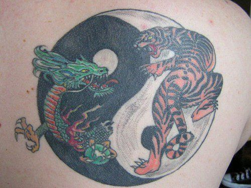 Back tattoos tattoo designs and design on pinterest for Chinese triad tattoo
